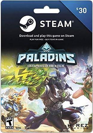 Amazon Com Steam Gift Card 30 Video Games