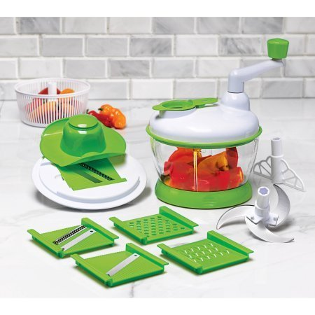 13-Piece Super Slicer All-in-one lid