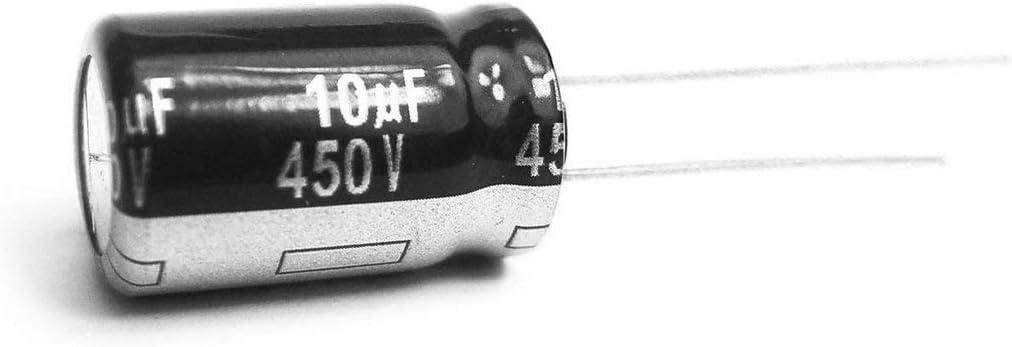 Greatangle 2 STK Elektrolytkondensatoren 450V 10uF HIGT Quality 10UF 450V Kondensator