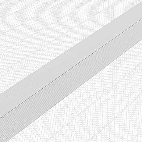 blanco Ancho y altura individual cortable JAROLIFT Mosquitera Cortina magn/ética para puertas 140 x 250cm