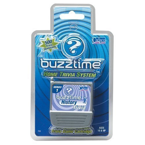 NTN Buzztime History Trivia Game Cartridge