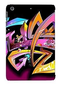 Hot Snap-on Graffiti Hard Cover Case/ Protective Case For Ipad Mini/mini 2