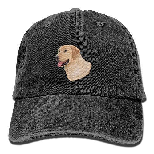 Labrador Retriever Adult Cowboy Hat Baseball Cap Adjustable Athletic Custom Best Graphic Hat for Men and Women