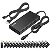 ZOZO Universal 15v 16v 18.5v 19v 19.5v 20v 70W Ac Laptop Power Adapter Charger for Acer Asus Toshiba Dell Lenovo IBM HP Compaq Samsung Sony Gateway Fujitsu Ultrabooks Power Supply Cord Slim Design