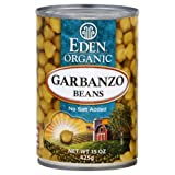 Eden Organic Garbanzo Beans 15.0 OZ (Pack of 2)