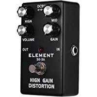 Docooler High Gain Distortion Guitar Effect Pedal with Volume Gain Control 2-Band EQ True Bypass Full Metal Shell