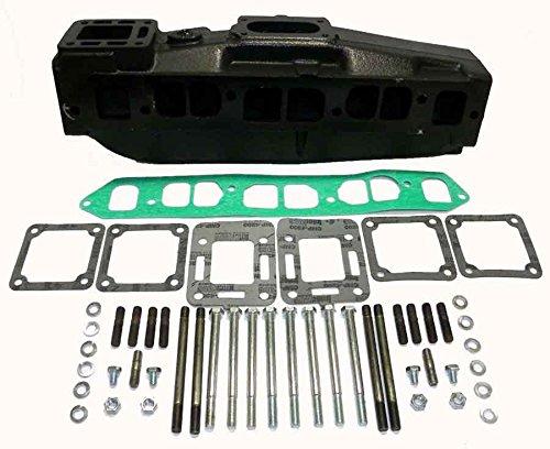 Mercruiser Barr 4 Cylinder Cooling Manifold/ Merc. Carb Kit WSM MC199798 - Cylinder Manifold 4 Mercruiser