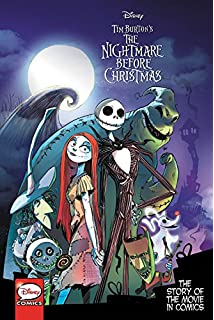 tim burtons the nightmare before christmas the story of the movie in comics