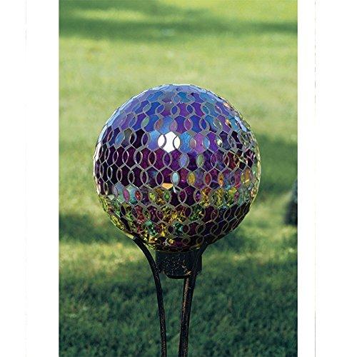 Carson Mosaic Plum Iridescence 10 Gazing Ball by Carson