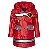 Wippette Boys & Toddlers Rain Jacket, Fireman - Matte Red, 2T