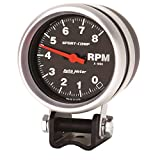 "Auto Meter 3708 Sport-Comp 2-5/8"" 8000 RPM Mini Competition Tachometer"
