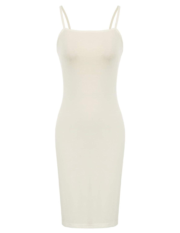 9e335e88a9 Kate Kasin Women Adjustable Spaghetti Underwear Full Slip Dress