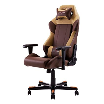 DX Racer DOH/DF66 Newedge Edition Coffee Brown Racing Bucket Seat Office Chair  Gaming Chair