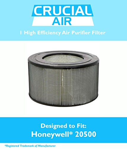 Honeywell 20500 Air Purifier Filter Fits Honeywell Enviracaire Model 10500, EV-10, 17005, 170xx & 83170, Designed & Engineered by Crucial Air