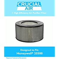 High Quality Honeywell 20500 Air Purifier Filter, Fits Honeywell Enviracaire Model 10500, EV-10, 17005, 170xx and 83170, by Think Crucial