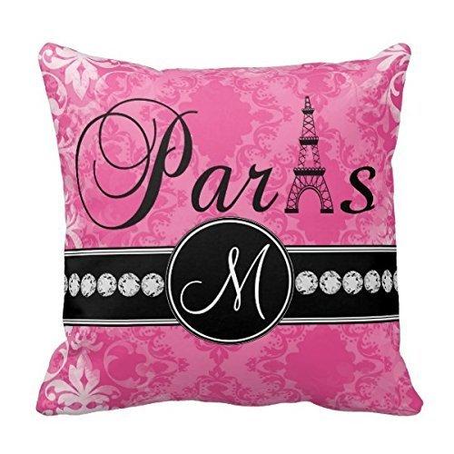 Decors Monogram Throw Pillow Case Cushion Cover Home Sofa De