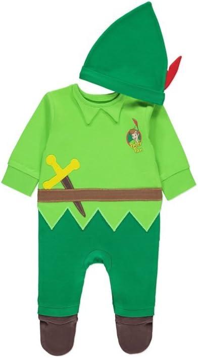 Disney, producto oficial de Peter Pan, disfraz todo en uno, para ...