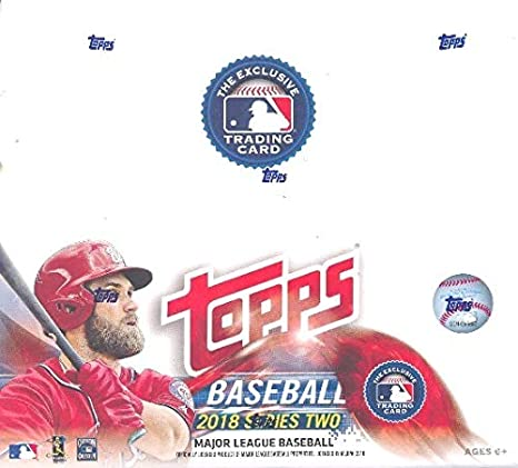 Topps 2018 Baseball Series 2 Retail Display Booster Box