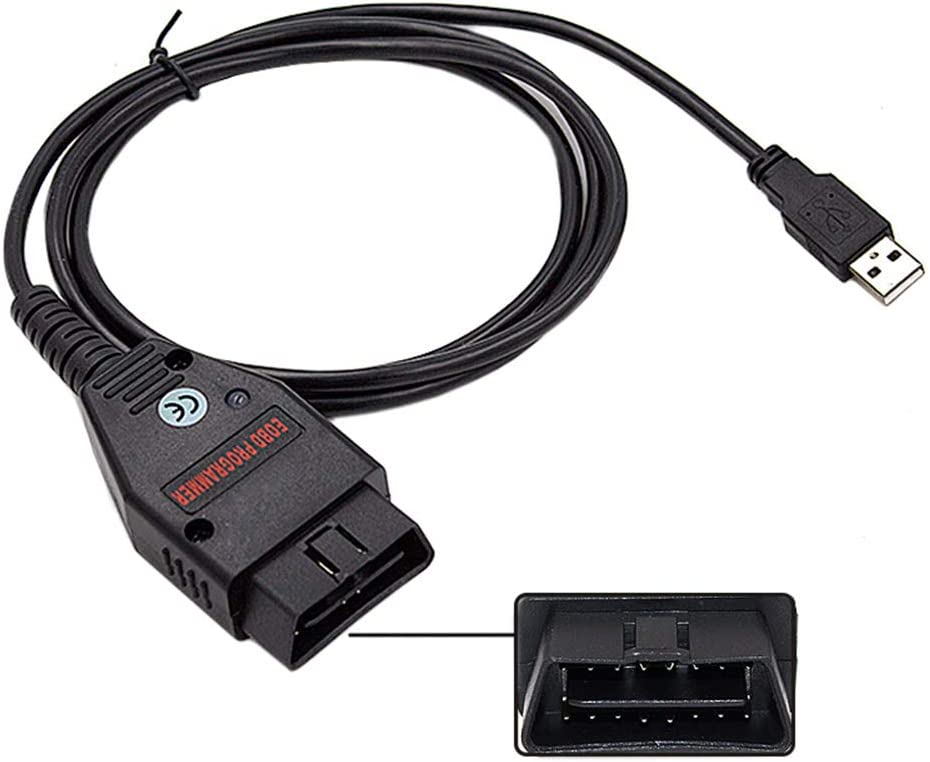 Autodiagnosekabel Galletto 1260 ECU Chip Tuning Tool EOBD OBDII Schnittstelle f/ür Autodiagnosekabel OBD2