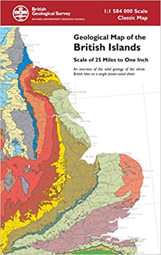 Geological Map Of India.Buy Geological Map Of The British Islands Small Scale Geology Maps