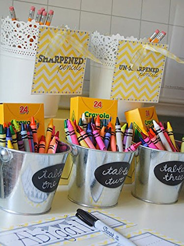 Chalkboard Labels and White Liquid Chalk Marker Premium Set of 48 Chalk Stickers + 3mm Fine Precision Reversible Tip Pen - 100% Quality Guarantee Photo #7