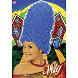Cartoon Blue For Marge Simpson Wig For Fancy Dress
