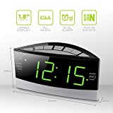 HANNLOMAX HX-100 Dual Alarm Clock, AM/FM