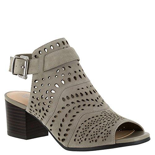 Bella Vita Women's Fonda Dress Sandal, Stone Kid Suede, 7 W US