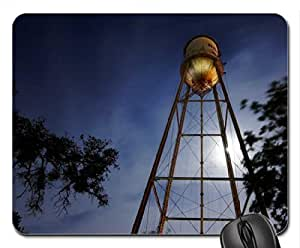 amazing water tower in red rock texas Mouse Pad, Mousepad
