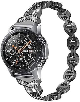 Amazon.com: Bling Bands para Samsung Galaxy Watch 1.811 in ...