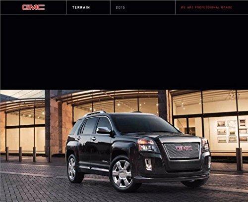 - 2015 GMC Terrain 34-page Original Car Sales Brochure Catalog - Denali