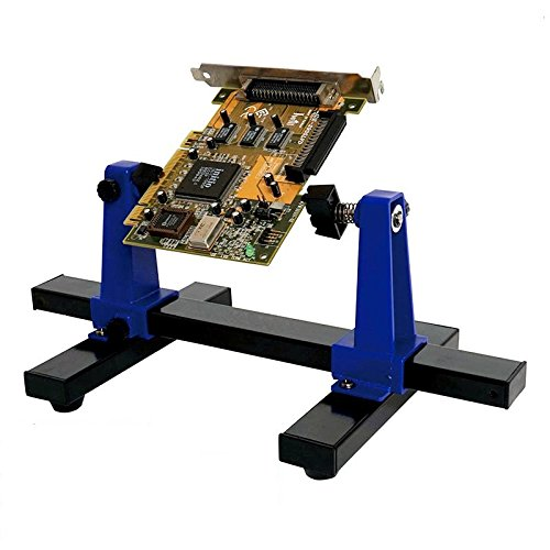 (Circuit Board Holder,Pro39;sKit SN-390 Adjustable Printed Circuit Board Holder Frame PCB Soldering and Assembly Stand Clamp Repair Tool 360 Degree Rotation)