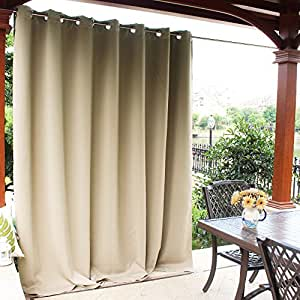 Amazon.com: NICETOWN Outdoor Privacy Curtain for Pergola ...