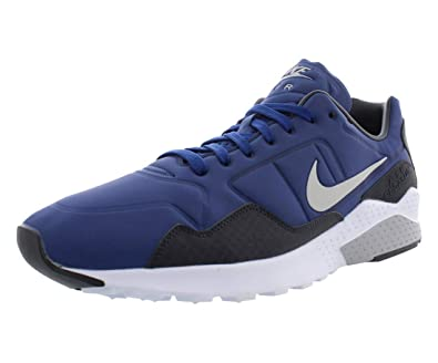5e4ac1b7f756 NIKE Men s Air Zoom Pegasus 92 Premium Casual Shoes Blue 844654-400 ...