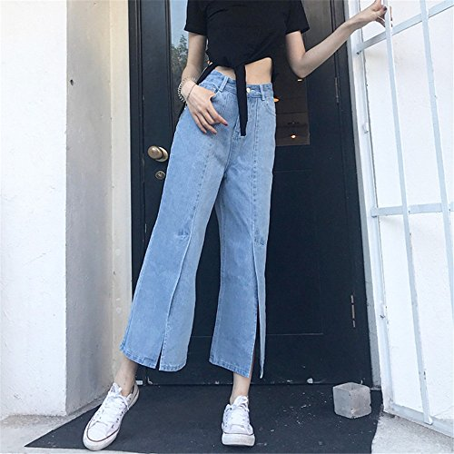 Jeans bleu Femme Evas bleu clothing COCO Zqa05