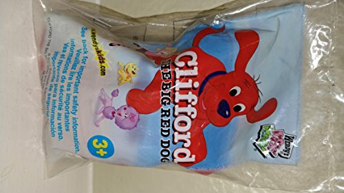 2003 Wendy's Kids Meal Toy Scholastic Inc. Clifford The Big Red Dog - Fast Food Collectible Plush Figure