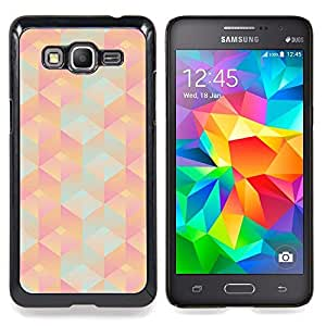 BullDog Case - FOR Samsung Galaxy On7 G6000 - Mountain Cold Purple Teal - Dise???¡¯???¡Ào para el caso de la cubierta de pl???¡¯????stico Chicas