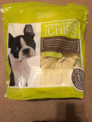 berkley-jensen-natural-rawhide-dental-chips-2-lbs-bag