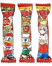 Umaibou Cinnammon Apple Pie Taste 0.3oz 30pcs Japanese Snacks Yaokin Ninjapo