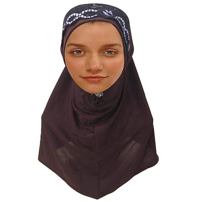 Kuwait Mona Hijab one piece One Piece Amira Hijab with round wrap