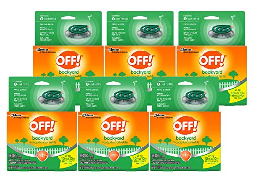 Off!. S C Johnson Country Fresh Scent Mosquito Coil III Refills, 6 Refills (Pack of - Coil Mosquito