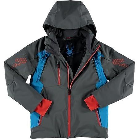 94f868de3f Spyder Boys  Vail Ski Jacket Polar Electric Blue Rage