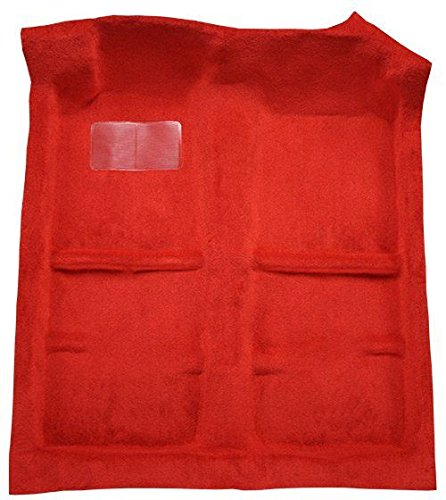 1990 to 1993 Acura Integra Carpet Custom Molded Replacement Kit, 2 Door or Hatchback Passenger Area (8293-Bright Red Plush Cut Pile)