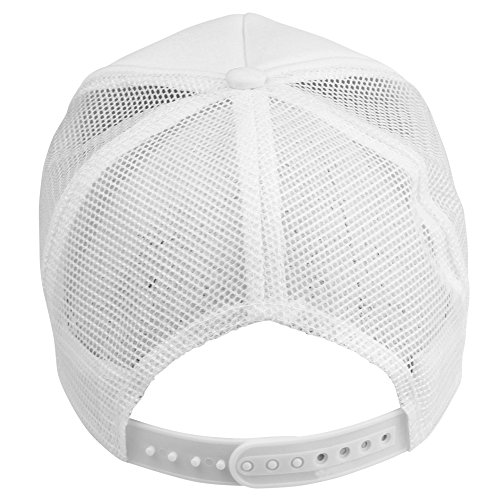 Plain Trucker Hat in White
