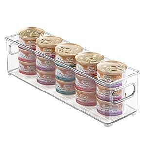 Amazon.com: mDesign Canned Cat Food Organizer Bin for Pet