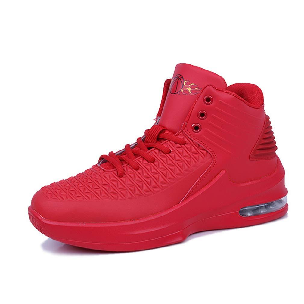 3f4849fc643 YAN Zapatos Zapatos Zapatos para Hombres Zapatillas Deportivas de  Microfibra Zapatillas Altas Absorción de Golpes Zapatillas