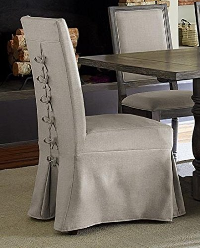 Progressive Furniture P836-60 Muse Upholstered Parsons Chair w/Cover (2/Ctn) Weathered ()