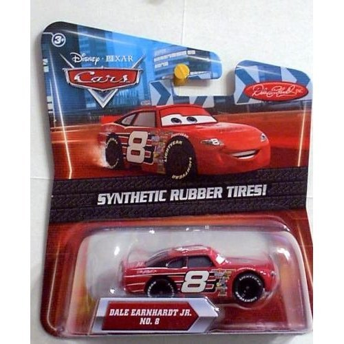 Disney / Pixar CARS Movie Exclusive 155 Die Cast Car with Synthetic Rubber Tires Dale Earnhardt Jr.