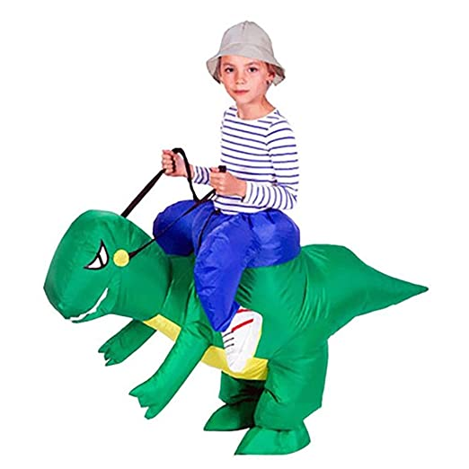 AchidistviQ - Disfraz hinchable de dinosaurio para niños, para ...