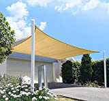 diig Patio Sun Shade Sail Canopy, 10' x